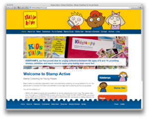 Stamp Active Website Home Page